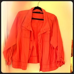 Coral Maurices jacket size 2